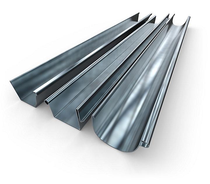 gouttiere en zinc
